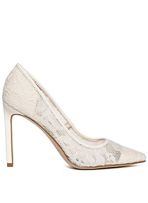 Nine West Dantelli Stiletto Beyaz